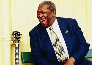 Breaking news - King of the Blues legend B.B. King has died in Las Vegas at age 89!