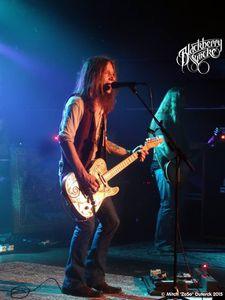 Blackberry Smoke US - Rusty Roots BE au Muziekodroom - Hasselt le 10 juin 2015