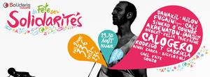 La Fête des Solidarités: la troisième édition se déroulera le week-end du 29 et 30 août 2015 à Namur.