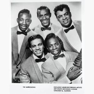 Décès d' Arthur Brooks, original member of the R&amp&#x3B;B vocal group The Impressions!