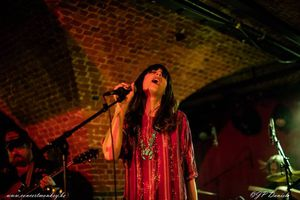 Nicki Bluhm &amp&#x3B; The Gramblers au Witloof Bar du Botanique, Bruxelles, le 30 janvier 2016