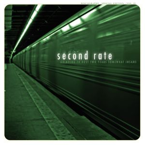 Album &quot&#x3B;Grinding To Dust Two Years Somewhat Insane&quot&#x3B; de Second Rate