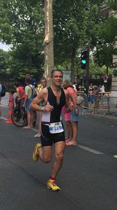 Un Noirmoutrin sur le triathlon M de Paris !