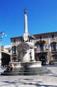 Les fontaines de Catane, Sicile  Fontane di Catania, Sicilia