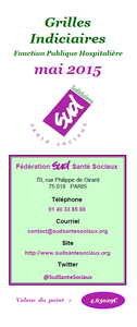 Grilles indiciaires FPH mai 2015
