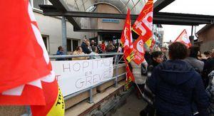 EU (76) le centre hospitalier en grève