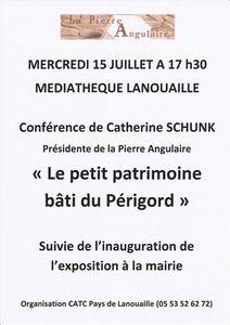 Conférence Patrimoine de pays