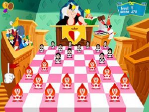 Coolmath4kids GAMES CHECKERS OF ALICE IN WONDERLAND