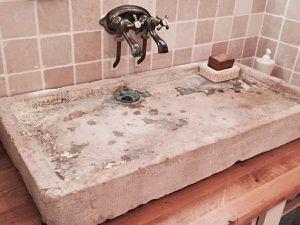 DIY: Meuble de Salle de bain à l'ancienne / rustique