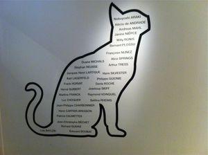 Les chats à la Maison Européenne de la Photographie.