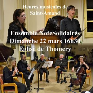 Concert NoteSolidaires à Thomery (77)