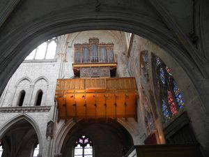 Concert d'orgue à Moret-sur-Loing (77)