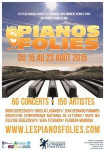 Les Pianos Folies au Touquet-Paris-Plage