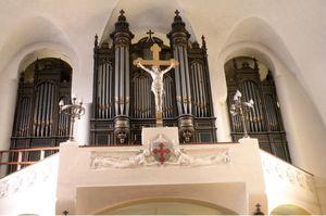 Inauguration de l'orgue de Saint-Maurice-de-Bécon à Courbevoie