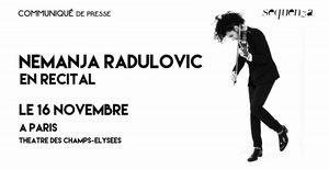 Nemanja Radulovic au théâtre des Champs Elysées