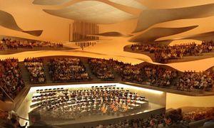 Inauguration de l'orgue de la Philharmonie Paris