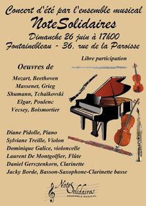 Concert NoteSolidaires