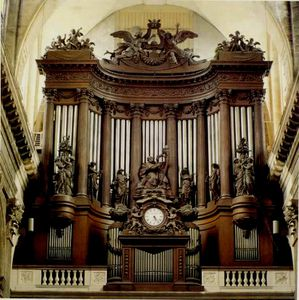 Concert d'orgue à Saint-Sulpice Paris