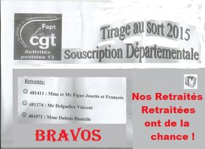 Souscription : Tirage local