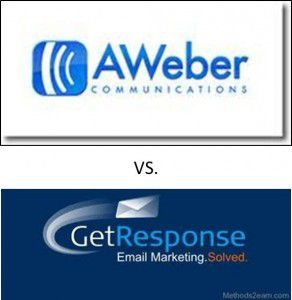 WHICH IS BETTER BETWEEN AWEBER AND ALSO GETRESPONSE?