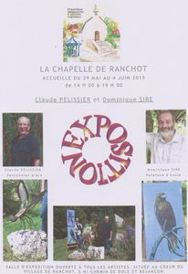 Exposition &quot&#x3B;LA CHAPELLE DE RANCHOT&quot&#x3B;