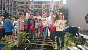 3 mai: 3 ème étape du projet jardinage avec les étudiants.