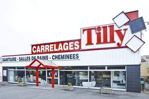 Tilly carrelages notre show room,