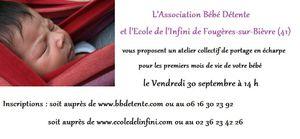 Atelier collectif de portage près de Blois (41)