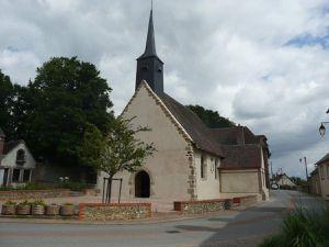 L'église Saint-Leonard depuis les travaux de 2015.