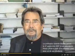 Climatologue Marcel Leroux