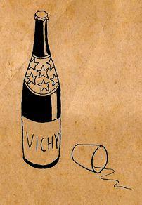Le caricaturiste Sennep et Vichy