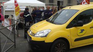 France 3, 9ème jour de grève des facteurs de Saint-Gaudens