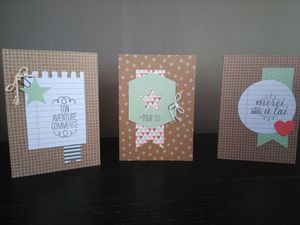 Sophiebio - Cartes kit hip hip hip hourra