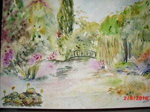 aquarelle Giverny 2