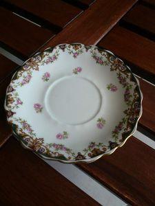 Soucoupe Porcelaine de Limoges