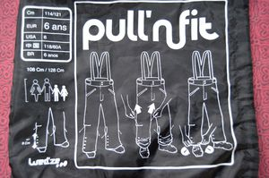Pantalon ski Pull'n Fit Wed'ze