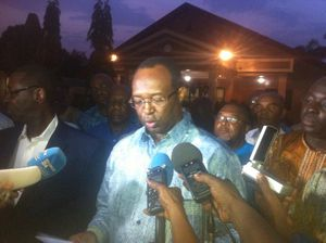 Centrafrique : « Le président Touadéra met le pays en danger avec ses improvisations » affirme Anicet Georges Dologuelé
