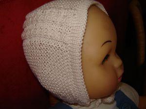 petit bonnet pour Emma