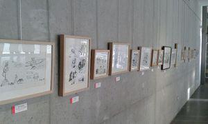 Expo BN² à la médiathèque Loire Forez (Saint Just Saint Rambert)