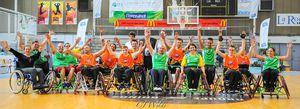 Démonstration de Basket Fauteuil à La Rochelle