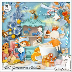 Noël gourmand acidulé