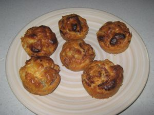 MUFFINS BACON ET ROQUEFORT