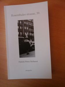 Patrick Pérez Sécheret : just published, 2e roman.
