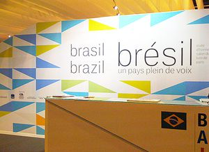 Stand of Brasil, honor guest 2015