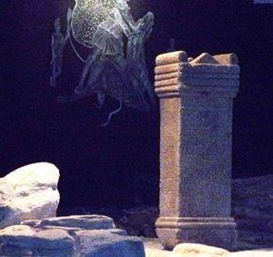 Lugo - Restes de l'autel.