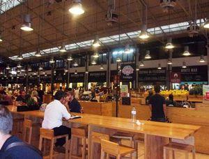 Lisbonne - Mercado de Ribeira.
