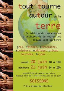 Exposition de céramistes à Soissons *