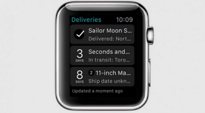 apple watch - deliveries