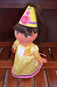 Dora cheveleure magique - Fisher Price - Mattel