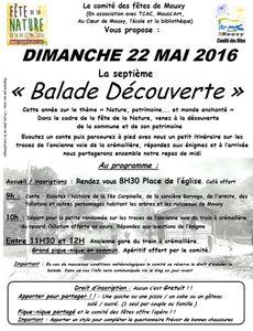 Balade Decouverte / fête de la nature
